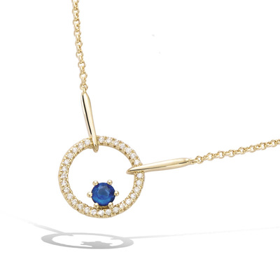 3 Microns Gold Plated Necklace 52HU0630SS